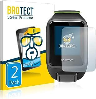 BROTECT Protector Pantalla Compatible con Tomtom Runner 3 Ca