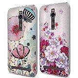 Fubaoda 2X ASUS Zenfone 2 ZE551ML Hülle, 3D Erleichterung