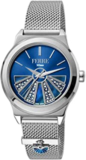 Ferre Milano Casual Watch For Women Analog Stainless Steel - FM1L125M0041