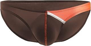 K-Men Mens Sexy Ice Silk Bikini Underwear Low Rise Breathable Brief Multi Colors