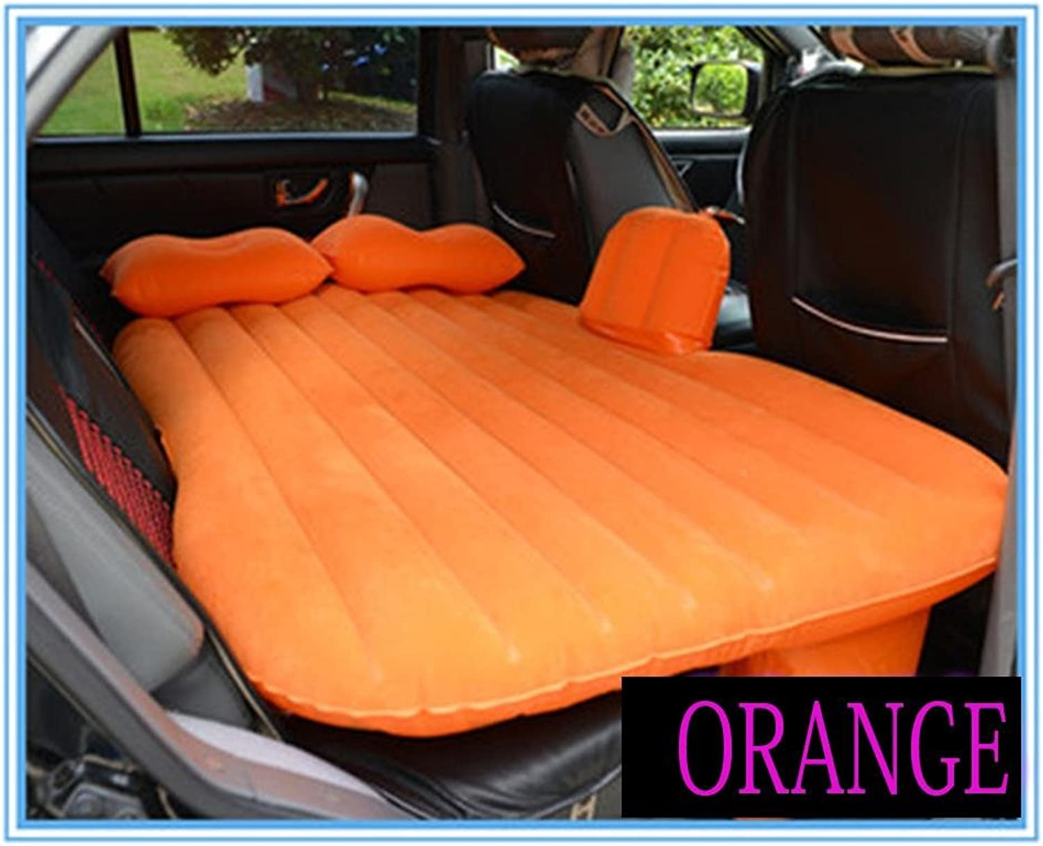 e4e046905969c Car Air Bed,GZD Car Travel Inflatable Mattress Back Seat Cushion With Motor  Pump And