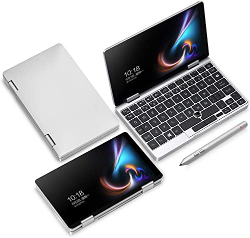 Breale 7 Zoll EIN Netbook 1S Pocket Laptop 8GB RAM 256GB SSD Computer 360 Grad Flip Tablet mit Stift