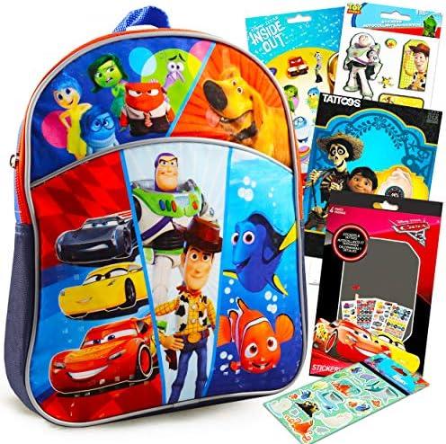 Disney Pixar Mini Backpack for Boys Girls Toddlers Kids Super Set Premium 11 Disney Backpack product image