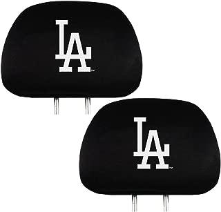 Team ProMark Official Major League Baseball Fan Shop Authentic Car Truck Auto MLB Headrest Cover (Los Angles Dodgers)