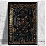 KONGQTE Bioshock Rapture Video Game Posters and Prints Canvas Painting Wall Pictures for Living Room Vintage Art Decorative-50x70cm No Frame