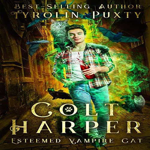 Colt Harper audiobook cover art