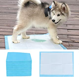 Goolsky Dog Pet Training Pee Pads Super Absorbent Disposable Healthy Puppy Pads for Dog Cats 50PCS