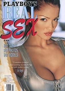 REVUE PLAYBOY'S REAL SEX - HOT TALK - HOT PHOTOS - HOT MODELS - FEVRIER 1998