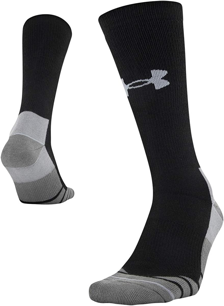 Under Armour Men's Hitch Heavy 3.0 Boot Socks, 1-pair