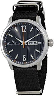 Lucien Piccard Milanese Dial Men's Textile Watch 40027-01-NS