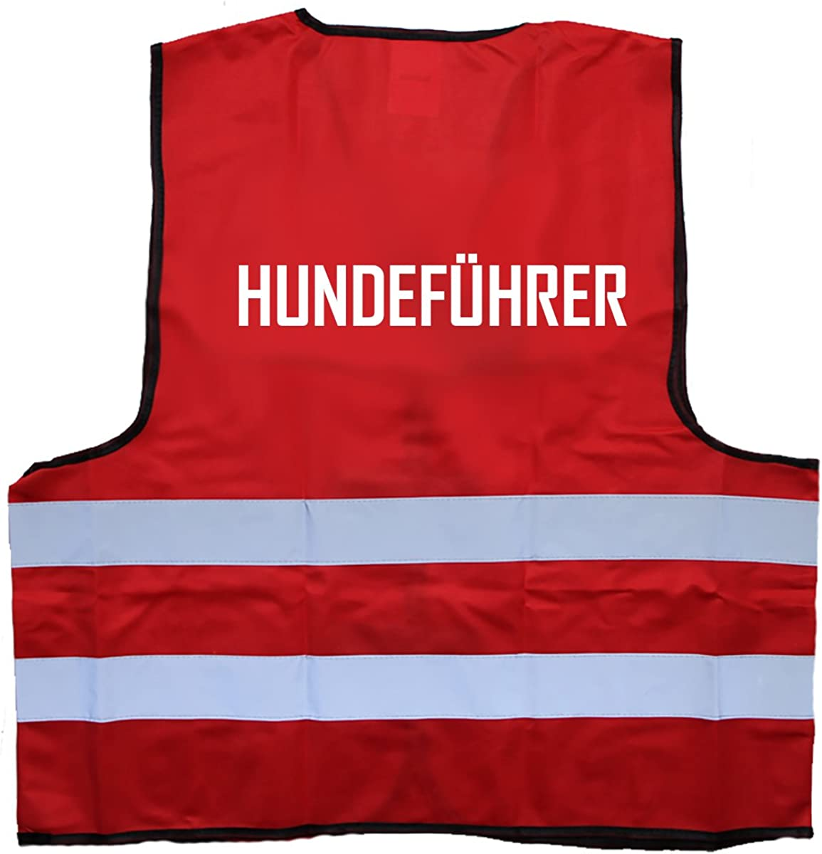 Hundef/ührer Warnweste Einheitsgr/ö/ße bis XXL