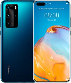 HUAWEI P40 Pro 5G, Ultra Vision Leica Quad Camera, VIP Service - Deep Sea Blue
