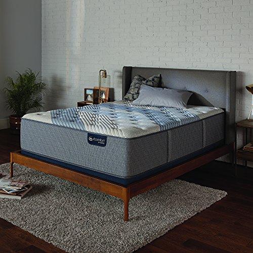Fantastic Prices! Serta Icomfort Icomfort Hybrid 15 Blue Fusion 3000 Plush Mattress Bed Conventiona...