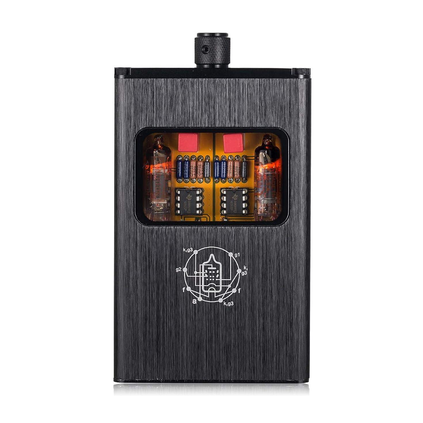 Little Bear B4-X Portable Dual-Mono Vacuum Tube Headphone Amplifier; Mini Balanced Audio Headphone Amp B4 Upgrade Version