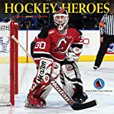 Hockey Heroes 2020 12 x 12 Inch Monthly Square Wall Calendar by Wyman Publishing, Sport Celebrity