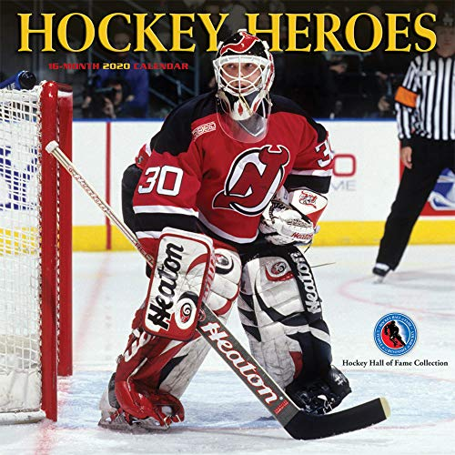 Hockey Heroes - Helden des Eishockeys 2020 - 16-Monatskalender: Original BrownTrout/Wyman Publishing-Kalender [Mehrsprachig] [Kalender] (Wall-Kalender)