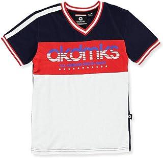 AKADEMIKS Boys' V-Neck T-Shirt