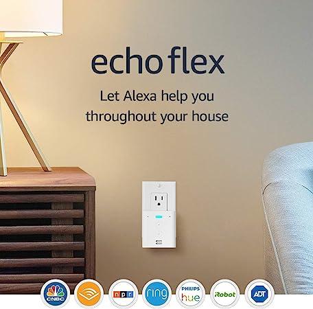 Introducing Echo Flex - Plug-in smart speaker with Alexa