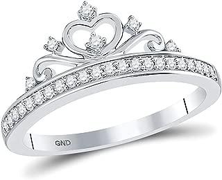 Best diamond tiara ring 10k white gold Reviews