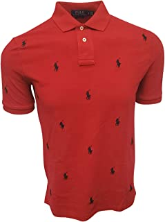 Polo Men's Scattered Pony Logo Polo Shirt