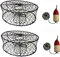 KUFA 2-Pack Sports Foldable Crab Trap with 11