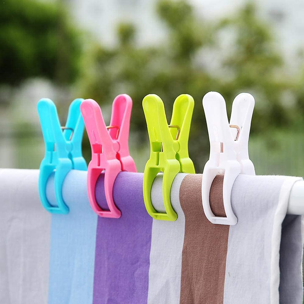 KUWEI 4PCS Plastic Beach Towel Quilt Drying Clip Wi OFFicial El Paso Mall