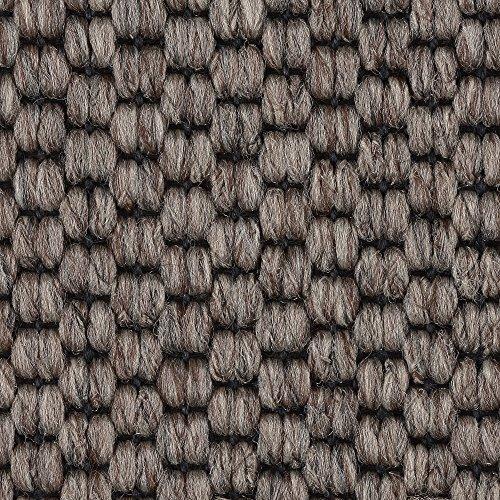 Teppichboden Auslegware | Sisal-Optik Schlinge | 400 und 500 cm Breite | grau braun | Meterware, verschiedene Größen | Größe: 6,5 x 5 m