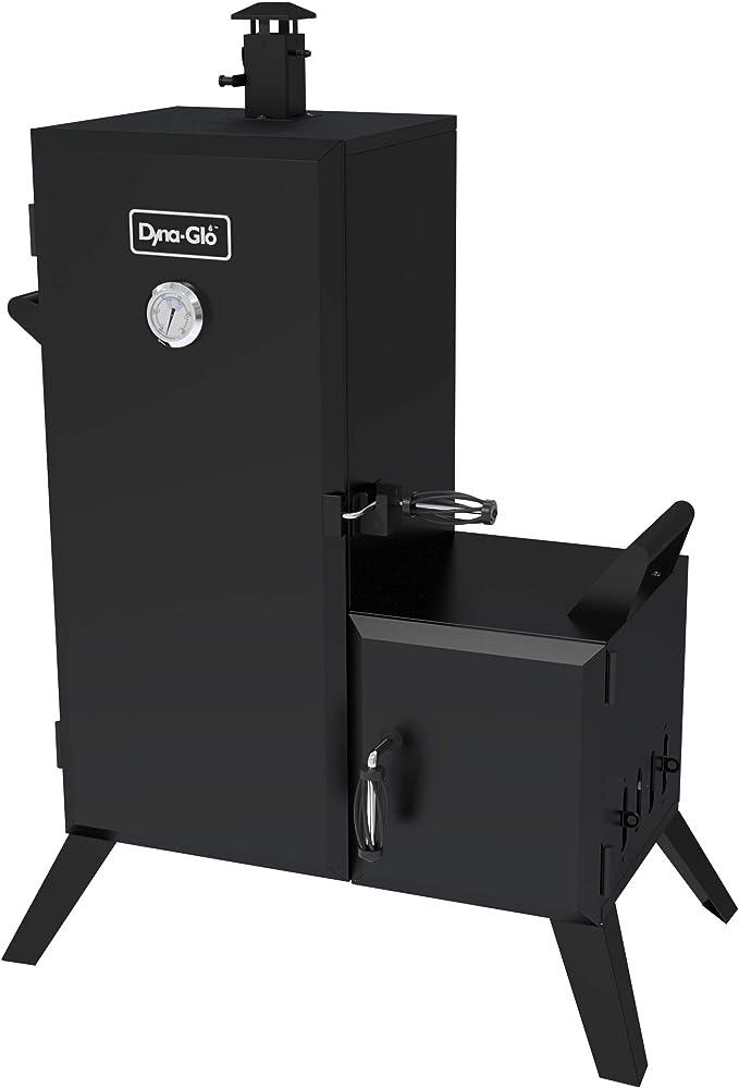 Dyna-Glo DGO1176BDC-D Vertical Offset Charcoal Smoker – Best Family Smoker