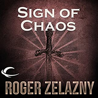 Sign of Chaos      The Chronicles of Amber, Book 8              Written by:                                                                                                                                 Roger Zelazny                               Narrated by:                                                                                                                                 Wil Wheaton                      Length: 5 hrs and 53 mins     1 rating     Overall 5.0