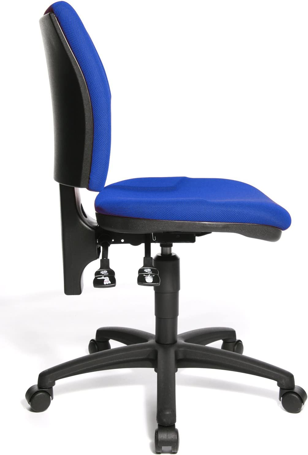 Chaise de bureau-u50 Orange Bleu