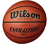 Wilson Evolution Indoor Game Basketball, Intermediate - Size 6-3 Pack