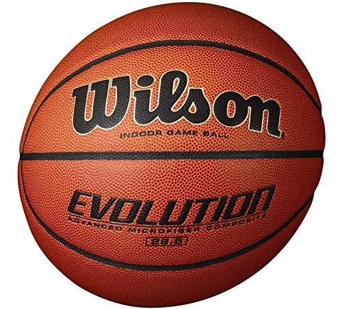 Wilson Evolution Indoor Game Basketball, Intermediate - Size 6-2 Pack