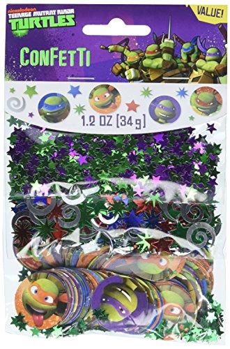 Teenage Mutant Ninja Turtles Confetti by Amscan