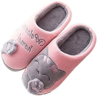 b590d36bcb5e1 Amazon.fr   chat - Chaussons   Chaussures femme   Chaussures et Sacs