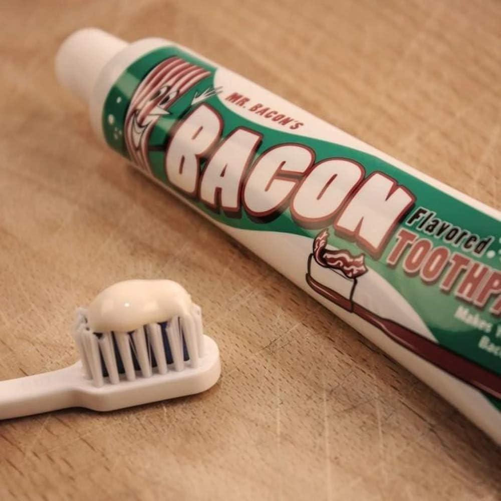 Zahncreme mit Speckgeschmack