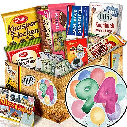 Geschenk zum 94. / DDR Schokolade / 94ter Geburtstag Geschenke