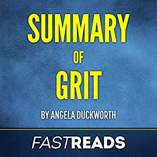Summary of Grit by Angela Duckworth audiobook cover art