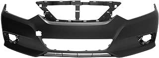 MBI AUTO - Primered, Front Bumper Cover Fascia for 2016 2017 2018 Nissan Altima 16 17 18, NI1000311