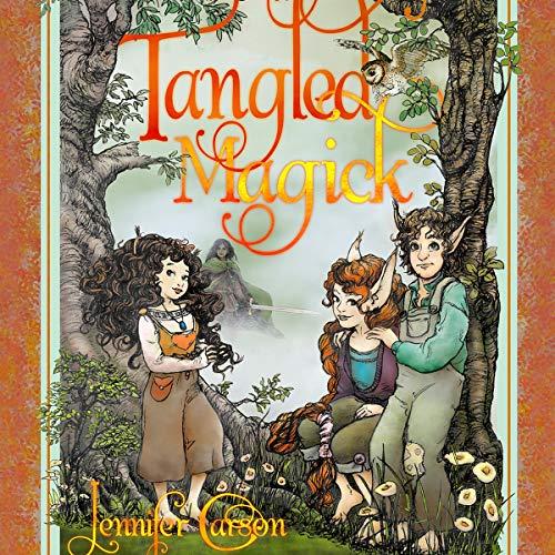 Tangled Magick audiobook cover art