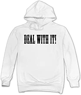 Mans Deal With It Hoodie