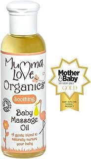 Mumma Love Organics Organic Baby Massage Oil 100ml