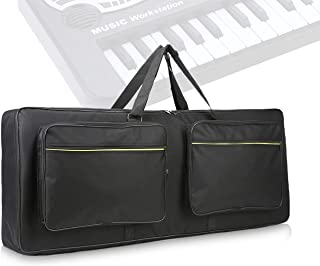 61 key keyboard bag with 10mm Cotton Padded Case Gig Bag thickened waterproof electronic piano cover case for electronic 4...