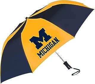 Michigan Wolverines Sporty Two-Tone Umbrella