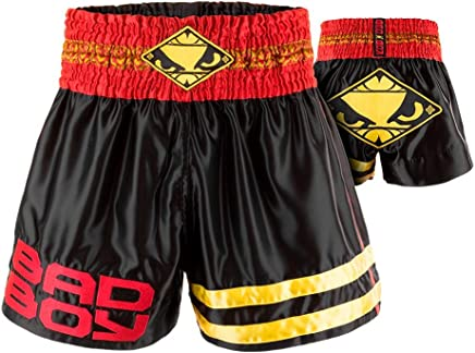 Bad Boy Unisex-Adult Tii Sok Muay Thai Shorts B072QBFGCV   |