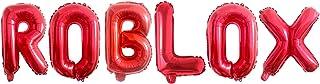 بالونات حفلات من رقائق الألومنيوم مقاس 16 بوصة لألعاب الفيديو، لوازم بالون الحفلات، ألعاب الفيديو، زينة عيد الميلاد (أحمر)