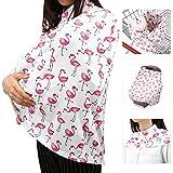Zooawa Poncho per Allattamento, Baby Passeggino Cover Sciroppo di allattamento al seno - F...