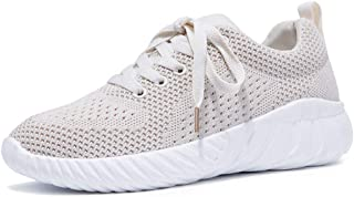 SKLT 4 Colors Women Running Shoes Breathable Mesh Sneakers White Ladies Basket Trainers Non Slip Lace Up Casual Jogging