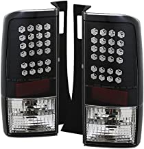 [For 2004-2006 Scion xB] VIPMOTOZ Premium LED Tail Light Lamp - Black Housing, Driver and Passenger Side