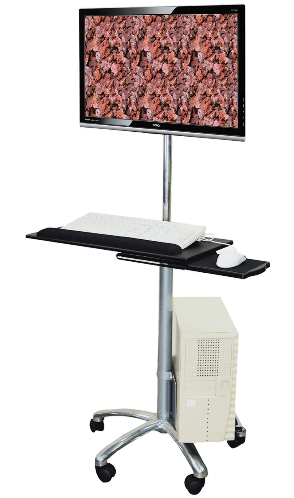 Value Mobile PC Cart, Silver - Soporte para televisor (Silver, 10 kg): Amazon.es: Electrónica