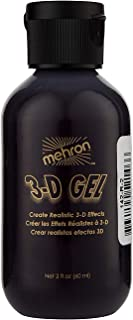 Mehron Makeup 3-D Gel (2 oz) (Blood Red)